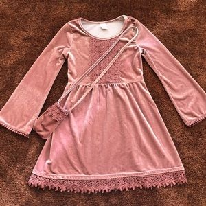 Arizona Girls Long Sleeve Casual Dress